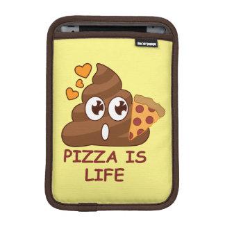 Pizza kacken das Leben Sleeve Für iPad Mini
