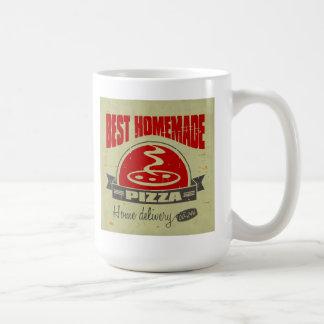 Pizza Kaffeetasse