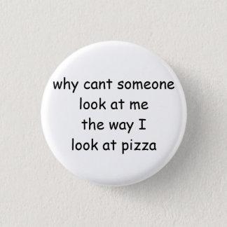 Pizza-Knopf Runder Button 2,5 Cm