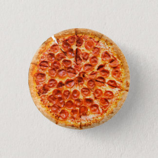 Pizza-Knopf Runder Button 3,2 Cm