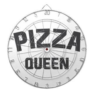 Pizza-Königin Dartscheibe