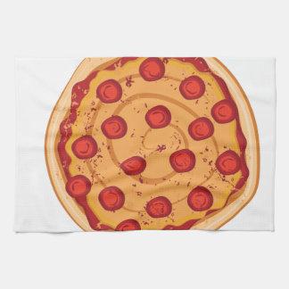 Pizza Küchentuch