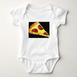 Pizza-Kunst Baby Strampler