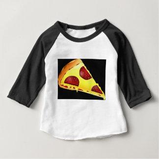 Pizza-Kunst Baby T-shirt