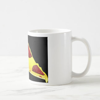 Pizza-Kunst Kaffeetasse