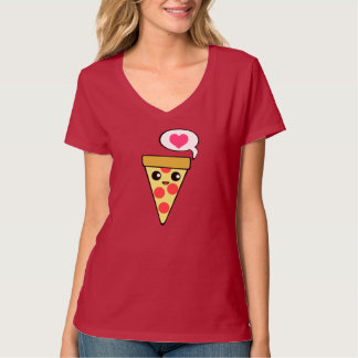Pizza-Liebe T-Shirt