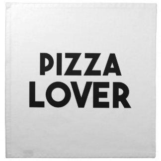 Pizza-Liebhaber Serviette
