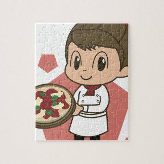 Pizza-Lieferung Puzzle