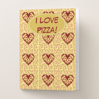 Pizza Lovin Muster Mappe
