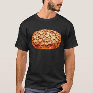 Pizza mit Pepperonis und Wurst T-Shirt