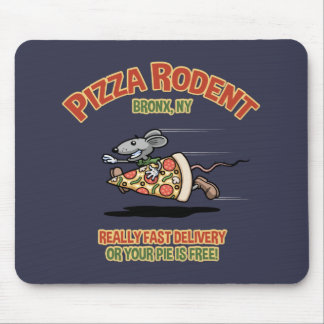 Pizza-Nagetier Mauspad