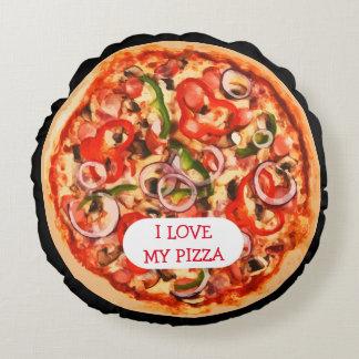 Pizza-Neuheits-Kissen Rundes Kissen