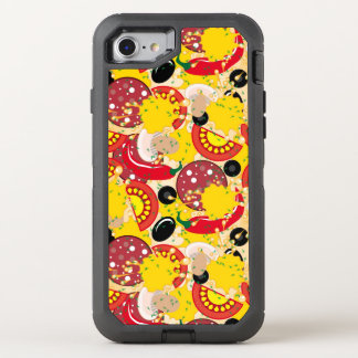Pizza OtterBox Defender iPhone 8/7 Hülle