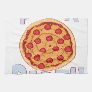 Pizza-Party Geschirrtuch