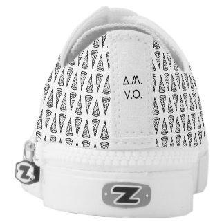 Pizza Pattern Shoes Niedrig-geschnittene Sneaker