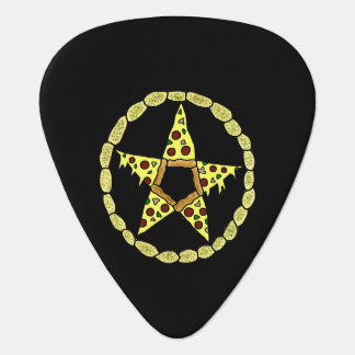 Pizza-Pentagramm-Plektrum Plektron