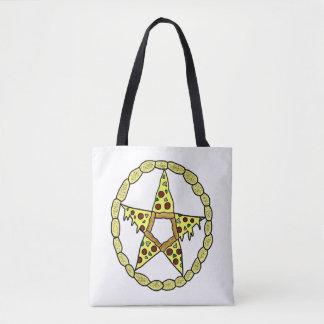 Pizza-Pentagramm Tasche