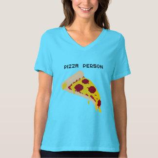 Pizza-Personen-T-Stück T Shirt