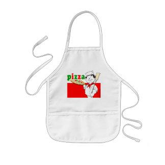 Pizza, pizzaiolo kinderschürze