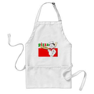 Pizza, pizzaiolo schürze