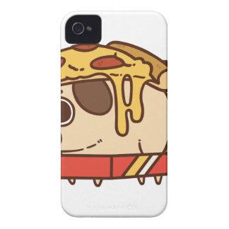 Pizza Pug-01 iPhone 4 Case-Mate Hülle