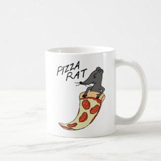 Pizza-Ratten-Tassen-Geschenk für Kaffeetasse