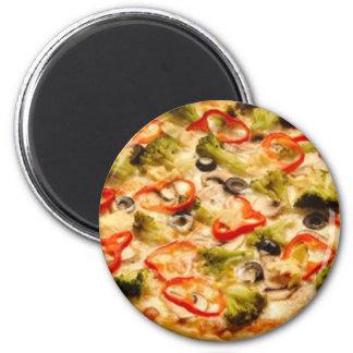 Pizza Runder Magnet 5,1 Cm