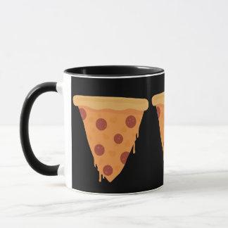 Pizza-Scheibe Tasse