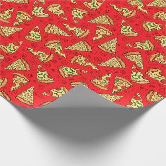 Pizza-Scheiben Geschenkpapier