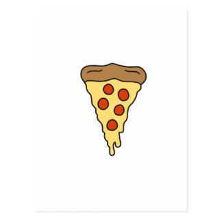 PIZZA-Shirts, Zusätze, Geschenke Postkarte