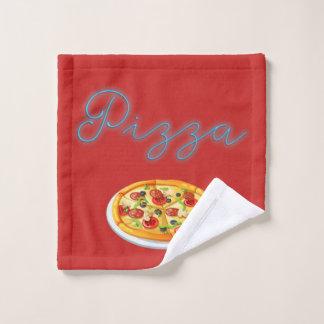 Pizza-Torte Waschlappen
