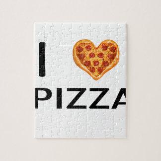 Pizza und Liebe Puzzle