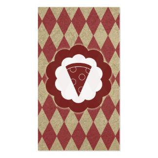 Pizza Vintag Visitenkarten