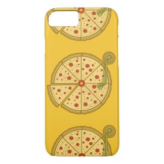 Pizza-Vinyltelefonkasten iPhone 8/7 Hülle