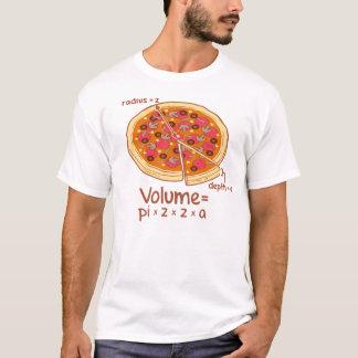 Pizza-Volumen mathematische Formel = Pi*z*z*a T-Shirt