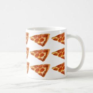 Pizza zum Frühstück Kaffeetasse