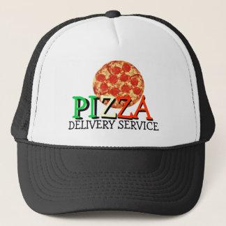 Pizza-Zustelldienst Truckerkappe