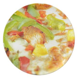 Pizzadetail Teller