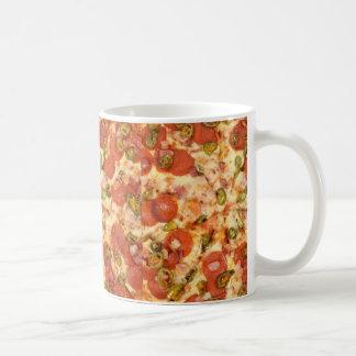 Pizzaentwurf Kaffeetasse