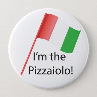 Pizzaiolo rundes Abzeichen Runder Button 10,2 Cm