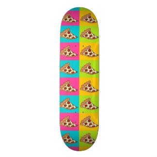 Pizzascheibe-Skateboard Personalisiertes Deck