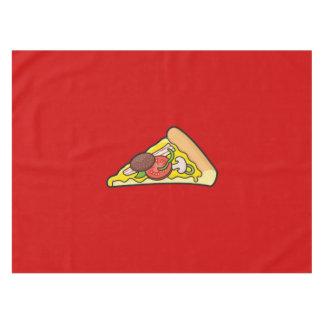Pizzascheibe Tischdecke