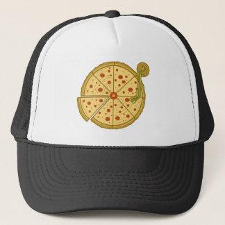 Pizzavinylfernlastfahrerhut Truckerkappe