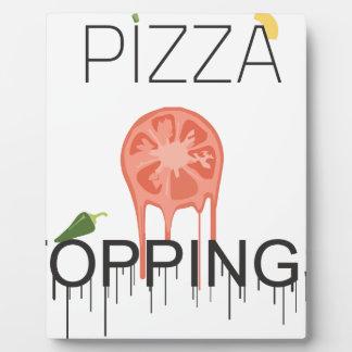 pizzza Spitzen Fotoplatte