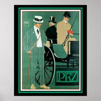 PKZ Marque-Deko-Anzeigen-Plakat 16 x 20 Poster