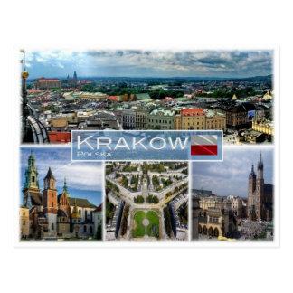 PL Polen - Krakau - Postkarte