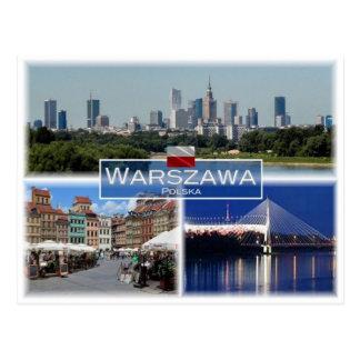 PL Polen - Warschau Warschau - Postkarte
