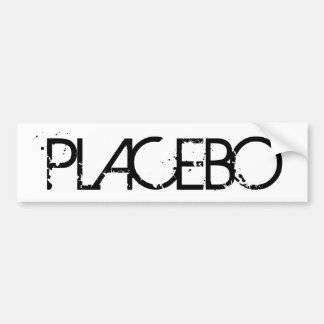 Placebo Bumber Aufkleber Autoaufkleber