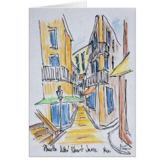 Placette Abbe Robert rüttelte | altes Nizza, Karte