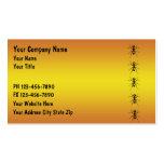 Plage-Kontrollen-Geschäfts-Karten Visitenkartenvorlagen